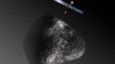 Foto van ruimtezonde   ESA