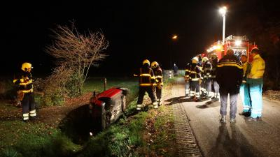 Bestuurder neemt de benen na eenzijdig verkeersongeval