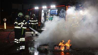 Brandweer: Toename aantal incidenten tijdens oud en nieuw