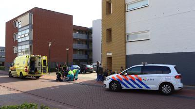 Foto van ongeval met fiets