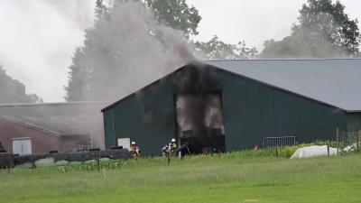 Foto van brand