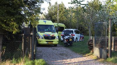 Ambulances op plaats ongeval