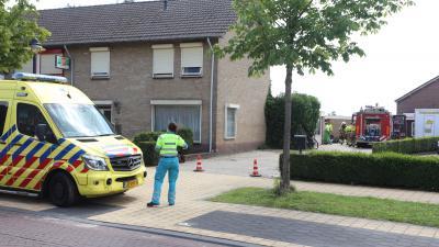 Ambulancedienst en brandweer ter plaatse