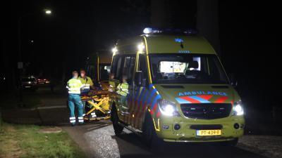 Ambulances ter plaatse