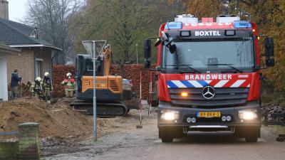 Brandweer controleert situatie