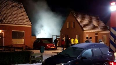 Sauna brand af in Gasselternijveen