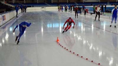 Internationaal schaatstoernooi Viking Race voor junioren in Thialf