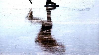 In Friesland wordt al geschaatst op natuurijs