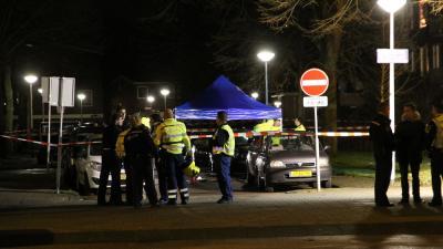 Foto van foerensisch onderzoek na schietpartij Amsterdam | BON