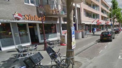 Snackbar beschoten in de Eerste Oosterparkstraat Amsterdam