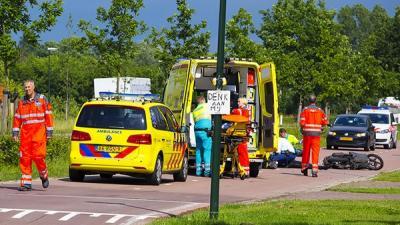 Bromfietser gewond in Schijndel | Persburo Sander van Gils | www.persburausandervangils.nl