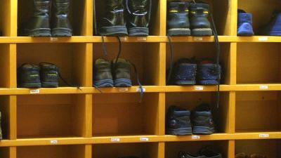 Foto van schoenen kinderen school | Archief EHF