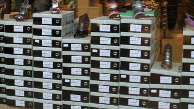 Aantal schoenwinkels in Amsterdam fors gedaald