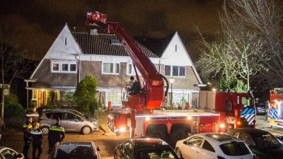 'Schoorsteenbrand' Vlaardingen blijkt vals alarm