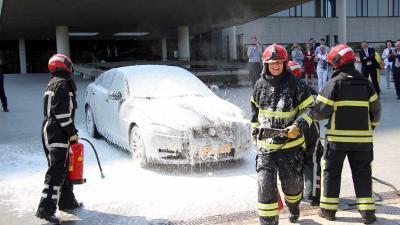 Brandschone laatste dienstrit chauffeur Frank van den Hout
