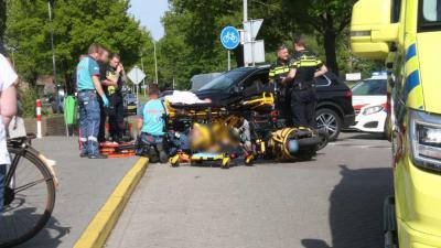 scooter-aanrijding-gewond