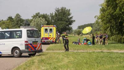 Scooterrijder overleden na val in Schiedam