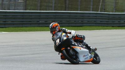 Vroege crash weerhoudt Scott Deroue van goede tijd in kwalificatie