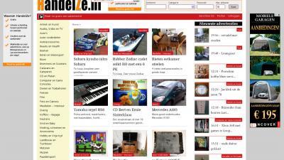 Screenshot van voorpagina HandelZe.nl | HandelZe.nl | www.handelze.nl