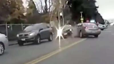 Spectaculaire achtervolging eindigt in dodelijke shootout voor carjacker