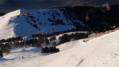 Skiërs opgesloten in vastgelopen gondelbaan Frankrijk