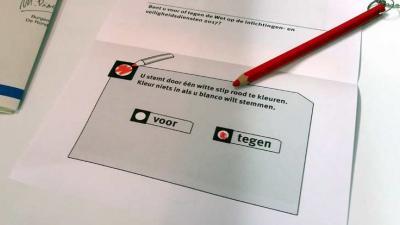 Nee-stemmers aan kop in referendum sleepwet