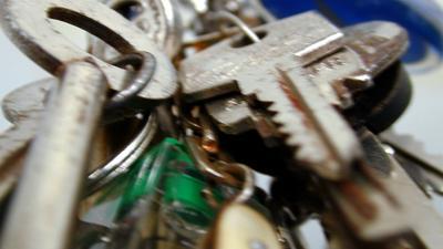 Foto van sleutel bos | Archief EHF