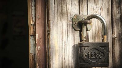 slot-deur-schuur