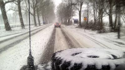 In Groningen kan men spreken van een witte kerst. In de noordelijke provincie is in de nacht van donderdag op vrijdag een laagje sneeuw gevallen.