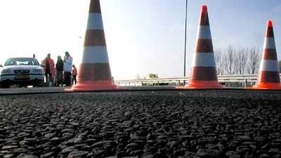 Foto van afzetting op snelweg politie | Archief EHF