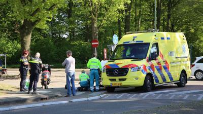 snorscooter-gewond-ambulance