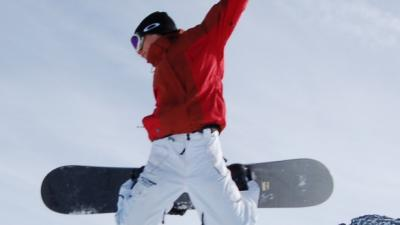 Foto van snowboarder   Sxc