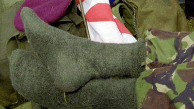 foto van soldaat | fbf archief