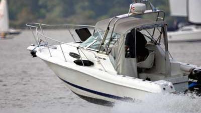Foto van speedboot op water | Archief EHF
