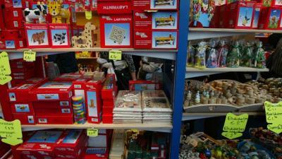 Geverfd houten speelgoed voldoet aan veiligheidseisen