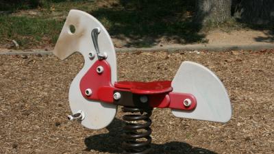 Foto van speeltuin