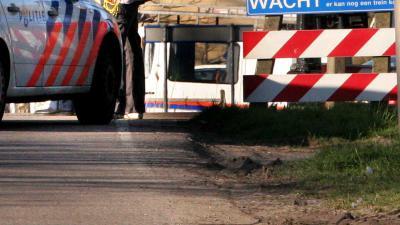spoorovergang-politieauto