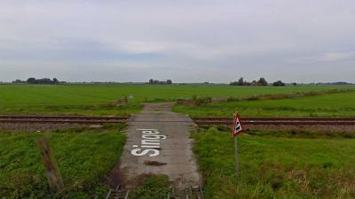spoorwegovergang-Singel-Boazum