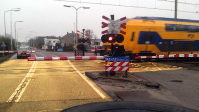 ProRail wil gele spoorwegovergangen