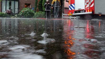foto van wateroverlast   fbf