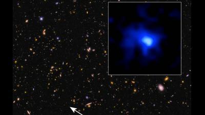 Hubble ontdekt oudste sterrenstelsel van 13 miljard jaar oud