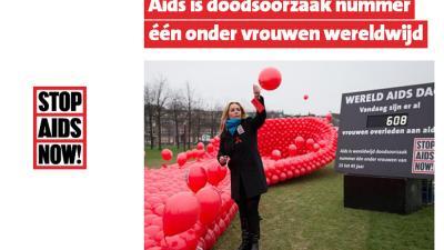 Angela Groothuizen:ruim duizend vrouwen per dag overlijden aan AIDS
