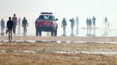 Meerdere drenkelingen op strand Den Haag