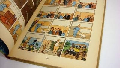 Stripboek 'Kuifje in Afrika' onder de hamer, geschate waarde van 60.000 euro
