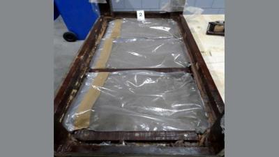 'Heroïne-tafel' aangetroffen in container Rotterdam