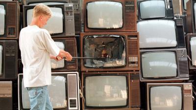 Kinderen die dagelijks meer dan twee uur tv kijken
