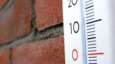 Foto van temperatuurmeter