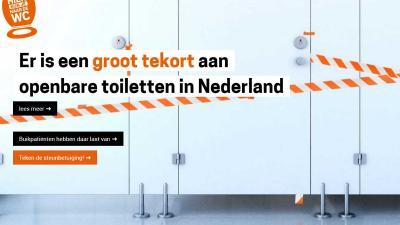 Conferentie over tekort aan openbare toiletten