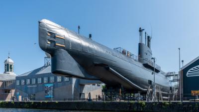 Foto van marine museum