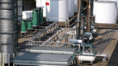 foto van ontploffing bij olieraffinaderij Total   fbf